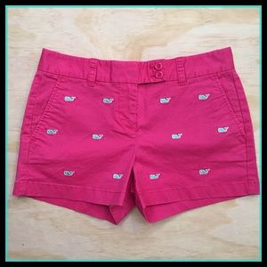 Vinyard Vines Pink Nautical Shorts Size  0
